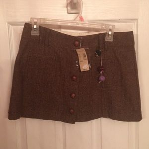 American Eagle NWT wool mini skirt